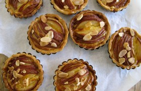Image for 'Pear and Almond Tarts'