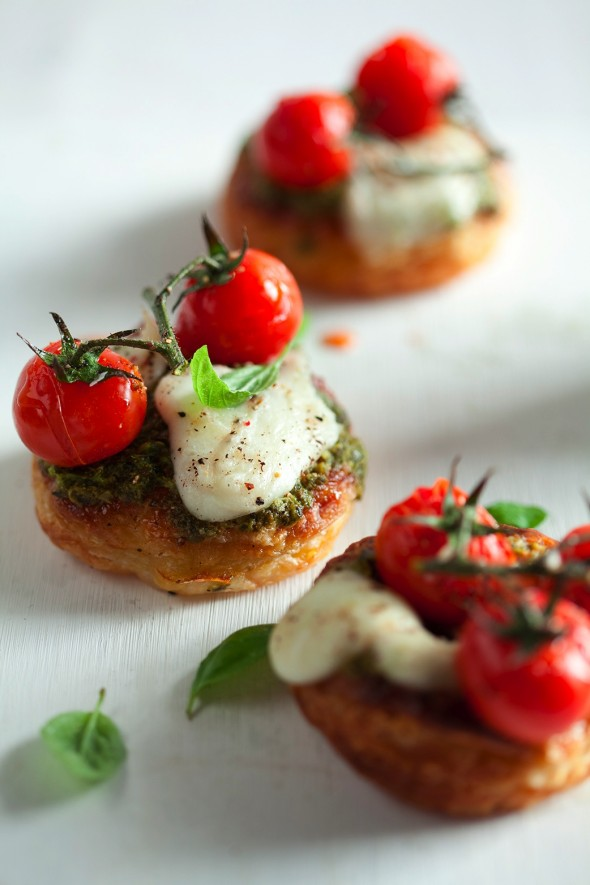 Image for 'Caprese Tart'