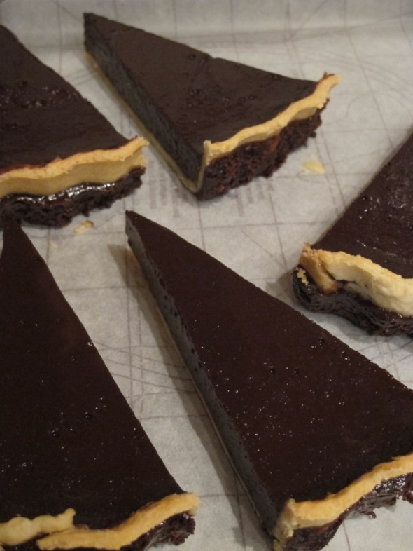 Image for 'Mint chocolate tart'