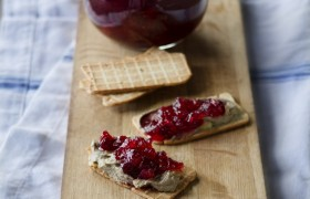 Image for 'Cranberry and apple compote'