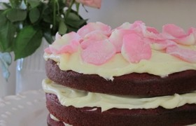 Image for 'Rose velvet cake'