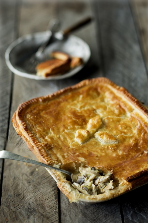 Image for 'Chicken and mushroom pie'