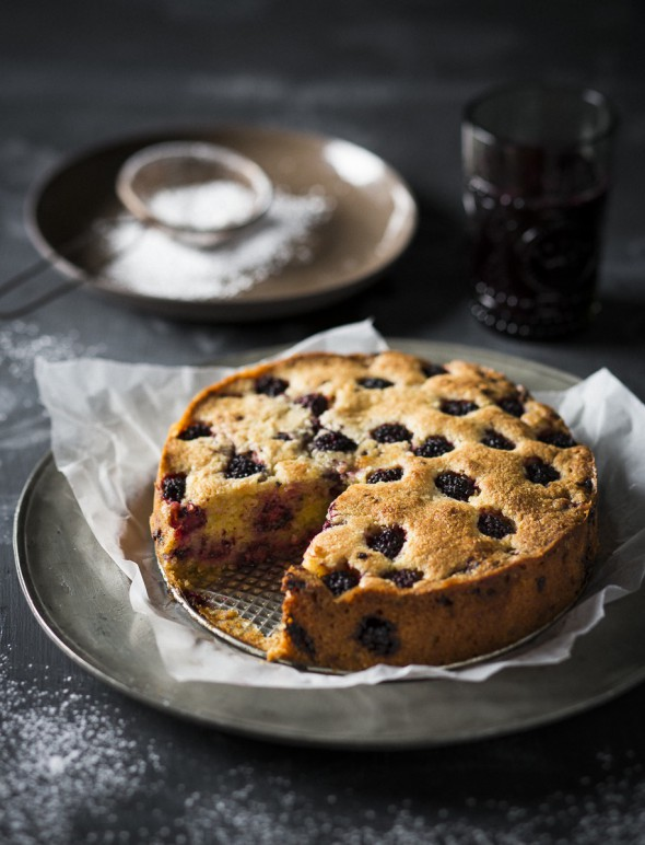Image for 'Blackberry torte'