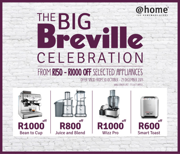 Image for 'Be in it to win it, with @home and Breville.'